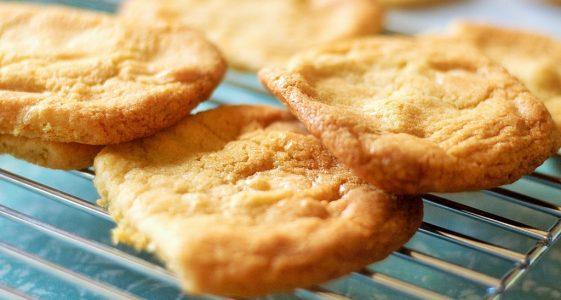 Glutenfreie Lemon-Coco-Cookies