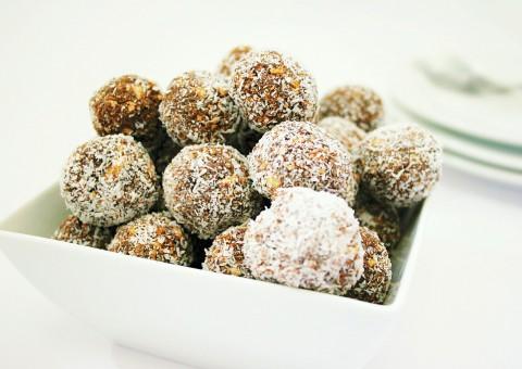 Kokos-Süßkartoffel Konfekt