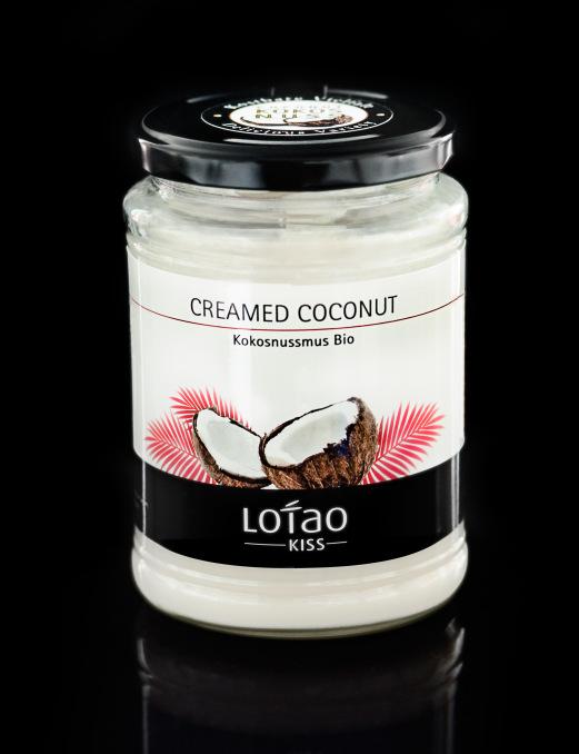 Lotao Kokosmus Bio, Inhalt: 500 g
